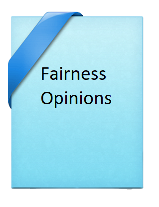 Fairness Opinions